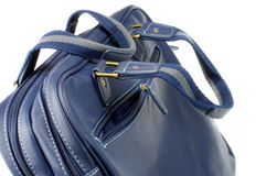 Μπλε τσάντα Στοκ Φωτογραφίες