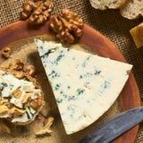 Μπλε τυρί Στοκ Εικόνα
