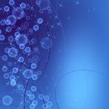 Μπλε υποβάθρου αστεριών Στοκ Εικόνες
