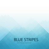 Μπλε υπόβαθρα του σχεδίου καρό Στοκ Φωτογραφία