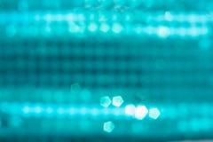 Μπλε υπόβαθρα Bokeh, υπόβαθρα κομμάτων, φω'τα disco Στοκ φωτογραφία με δικαίωμα ελεύθερης χρήσης