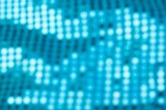 Μπλε υπόβαθρα Bokeh, υπόβαθρα κομμάτων, φω'τα disco Στοκ φωτογραφίες με δικαίωμα ελεύθερης χρήσης