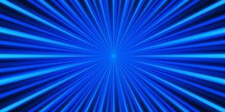 Μπλε υπόβαθρο ακτίνων Στοκ φωτογραφίες με δικαίωμα ελεύθερης χρήσης