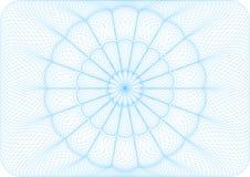 Μπλε υπόβαθρο αραβουργήματος. Στοκ Φωτογραφίες