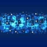 Μπλε υπόβαθρο αστεριών Στοκ φωτογραφίες με δικαίωμα ελεύθερης χρήσης