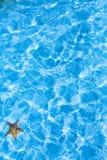 Μπλε υπόβαθρο κυματισμών νερού θάλασσας τέχνης Στοκ Φωτογραφίες