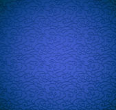 μπλε υπόβαθρο με τα σύννεφα Στοκ εικόνες με δικαίωμα ελεύθερης χρήσης