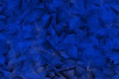 Μπλε υπόβαθρο με τις γωνίες και τις σκιές Στοκ Εικόνα