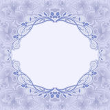 Μπλε υπόβαθρο Στοκ Εικόνα