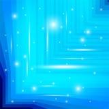 Μπλε υπόβαθρο με το σπινθήρισμα Στοκ εικόνα με δικαίωμα ελεύθερης χρήσης