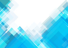 Μπλε υπόβαθρο ορθογωνίων Στοκ Εικόνα