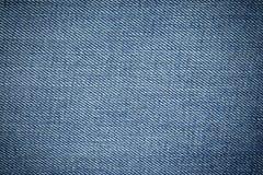 Μπλε υπόβαθρο σύστασης του Jean τζιν Στοκ εικόνα με δικαίωμα ελεύθερης χρήσης
