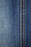 Μπλε υπόβαθρο σύστασης του Jean τζιν Στοκ εικόνες με δικαίωμα ελεύθερης χρήσης