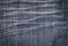 Μπλε υπόβαθρο σύστασης Jean Στοκ εικόνα με δικαίωμα ελεύθερης χρήσης