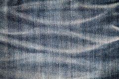 Μπλε υπόβαθρο σύστασης Jean Στοκ εικόνες με δικαίωμα ελεύθερης χρήσης