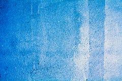 Μπλε υπόβαθρο τσιμέντου Στοκ εικόνα με δικαίωμα ελεύθερης χρήσης