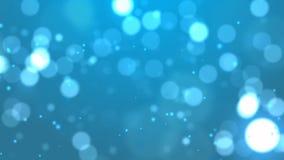 Μπλε υπόβαθρο Bokeh. απεικόνιση αποθεμάτων