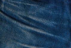 Μπλε υπόβαθρο Jean, μπλε σύσταση τζιν τζιν Στοκ φωτογραφία με δικαίωμα ελεύθερης χρήσης