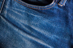 Μπλε υπόβαθρο Jean, μπλε σύσταση τζιν τζιν Στοκ εικόνα με δικαίωμα ελεύθερης χρήσης