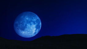 Μπλε φεγγάρι 01 Στοκ φωτογραφία με δικαίωμα ελεύθερης χρήσης