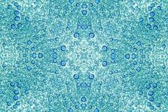 Μπλε φυσαλίδες στο άσπρο υπόβαθρο Στοκ εικόνα με δικαίωμα ελεύθερης χρήσης