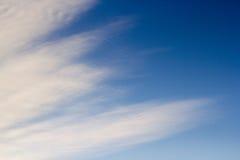 μπλε φωτεινός ουρανός Στοκ εικόνες με δικαίωμα ελεύθερης χρήσης