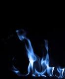Μπλε φλόγα Στοκ εικόνα με δικαίωμα ελεύθερης χρήσης