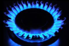 μπλε φλόγα Στοκ φωτογραφία με δικαίωμα ελεύθερης χρήσης