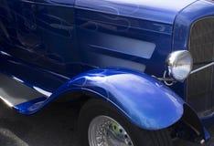 μπλε φλόγες Στοκ Φωτογραφίες