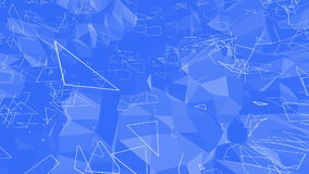 Μπλε χαμηλή πολυ επιφάνεια δόνησης ως πανέμορφο υπόβαθρο Μπλε polygonal γεωμετρικό δομένος περιβάλλον ή να κυμαθεί ελεύθερη απεικόνιση δικαιώματος