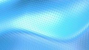 Μπλε χαμηλή πολυ μετατοπιζόμενη επιφάνεια ως απλό σκηνικό Μπλε polygonal γεωμετρικό μετατοπιζόμενο περιβάλλον ή κυμαιμένος υπόβαθ απεικόνιση αποθεμάτων