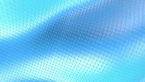 Μπλε χαμηλή πολυ μετατοπιζόμενη επιφάνεια ως ζωντανεψοντα περιβάλλον Μπλε polygonal γεωμετρικό μετατοπιζόμενο περιβάλλον ή να κυμ ελεύθερη απεικόνιση δικαιώματος