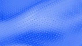 Μπλε χαμηλή πολυ μετατοπιζόμενη επιφάνεια ως περιβάλλον τέχνης Μπλε polygonal γεωμετρικό μετατοπιζόμενο περιβάλλον ή κυμαιμένος υ διανυσματική απεικόνιση