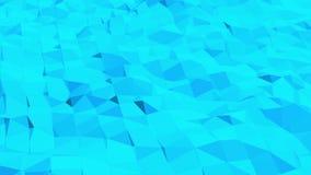 Μπλε χαμηλή πολυ να λάμψει επιφάνεια ως εταιρικό υπόβαθρο Μπλε polygonal γεωμετρικό λάμποντας περιβάλλον ή να κυμαθεί ελεύθερη απεικόνιση δικαιώματος