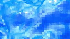 Μπλε χαμηλή πολυ να λάμψει επιφάνεια ως cyber υπόβαθρο Μπλε polygonal γεωμετρικό λάμποντας περιβάλλον ή κυμαιμένος υπόβαθρο διανυσματική απεικόνιση