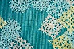 Μπλε χειμερινό υπόβαθρο Στοκ φωτογραφία με δικαίωμα ελεύθερης χρήσης