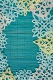 Μπλε χειμερινό υπόβαθρο Στοκ εικόνα με δικαίωμα ελεύθερης χρήσης