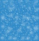 μπλε χιονοθύελλας απεικόνιση αποθεμάτων