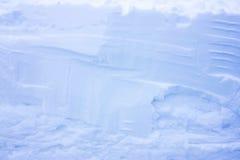 μπλε χιόνι Μεγάλα snowdrifts Στοκ Φωτογραφία