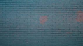 μπλε χρωματισμένος τοίχο&s Στοκ φωτογραφία με δικαίωμα ελεύθερης χρήσης