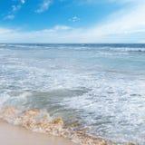 μπλε ωκεάνιος ουρανός Στοκ φωτογραφία με δικαίωμα ελεύθερης χρήσης