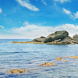 μπλε ωκεάνιος ουρανός Στοκ Φωτογραφία