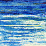 Μπλε ωκεανός. Στοκ φωτογραφίες με δικαίωμα ελεύθερης χρήσης