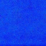 μπλε ύφασμα microfiber και μπλε σύσταση microfiber της πετσέτας microfiber Στοκ Εικόνες