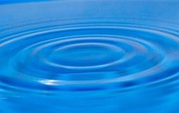 μπλε ύδωρ ανασκόπησης Στοκ εικόνες με δικαίωμα ελεύθερης χρήσης