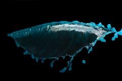 μπλε ύδωρ παφλασμών στοκ εικόνες