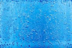 μπλε ύδωρ φυσαλίδων λουτρών ανασκόπησης Στοκ φωτογραφίες με δικαίωμα ελεύθερης χρήσης