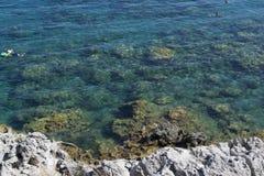 μπλε ύδωρ Στοκ φωτογραφία με δικαίωμα ελεύθερης χρήσης