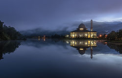 Μπλε ώρα σε Darul Quran Στοκ φωτογραφίες με δικαίωμα ελεύθερης χρήσης