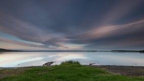 Μπλε ώρα της Ισλανδίας Στοκ Φωτογραφίες